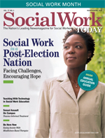 Social Work Today Cover